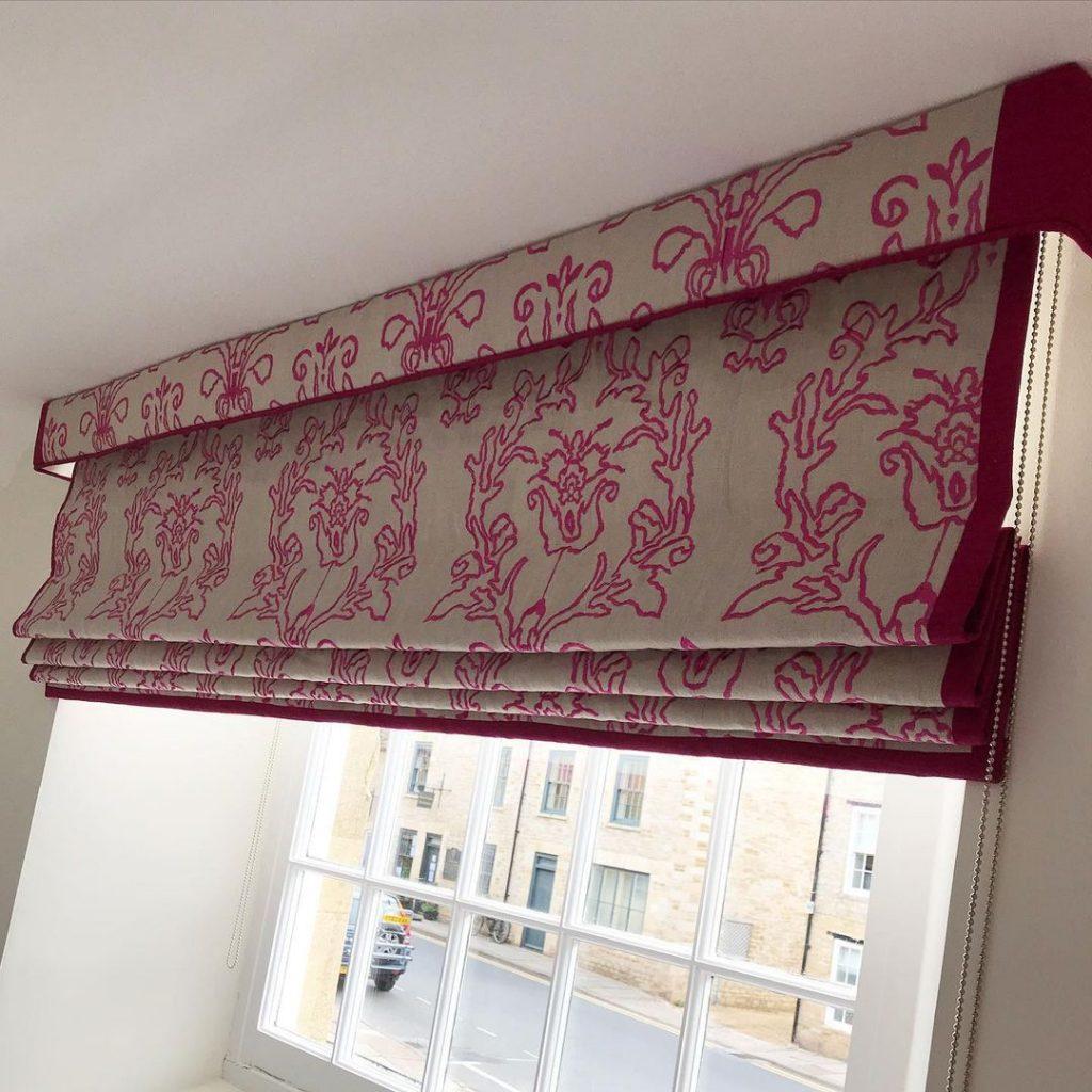 motorized roman blinds
